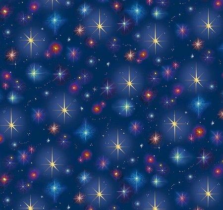 Christ Is Born Stars Navy