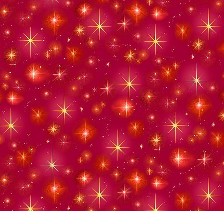 Christ Is Born Stars Red