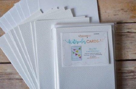 KimberBell Premium Watercolor Cards and Envelopes