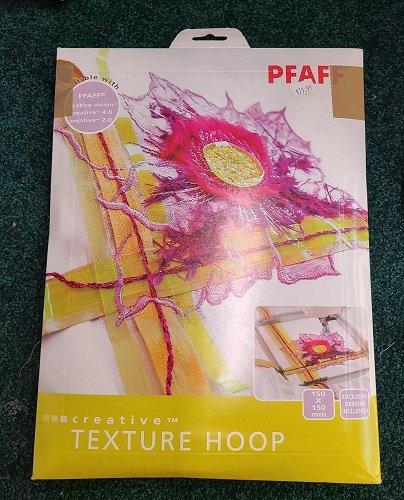 Used Pfaff Creative Texture Hoop