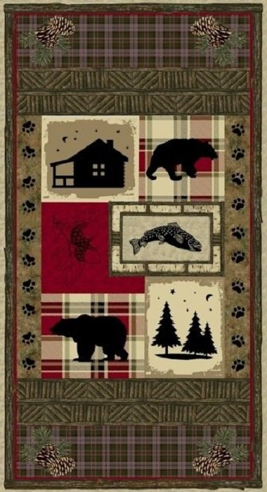 Cabin Fever Panel by Windham Fabrics