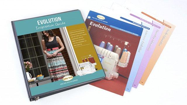 Baby Lock Evolution Serger Inspirational Guide