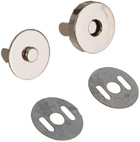 Magnet Tote Snap Closure 1/2 Black Nickel