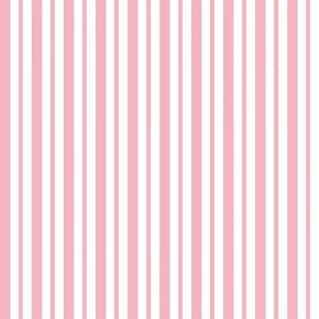 KimberBell Basics Mini Awning Stripe - Pink FQ
