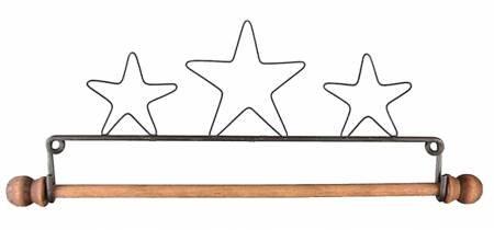 7-1/2in Three Stars Fabric Holder