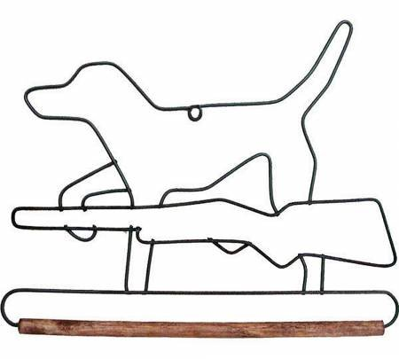 6in Hunting Dog Decorative Craft Hanger