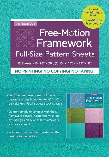 Free Motion Framework Full Size Pattern