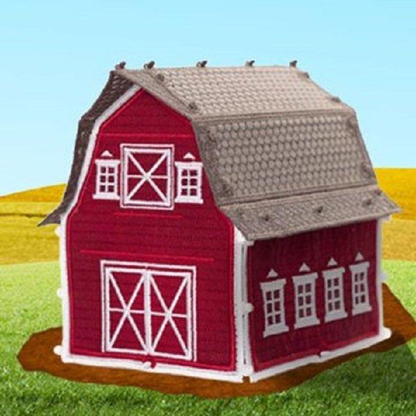 OESD Freestanding Barn Machine Embroidery CD
