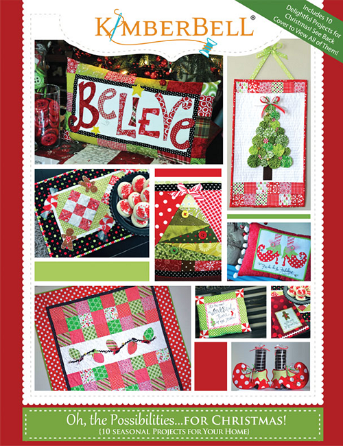 Kimberbell Oh The Possibilities for Christmas Project Book
