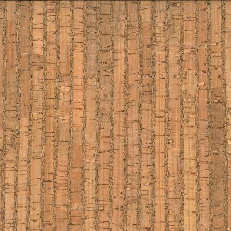 Prepacked Cork Blend Fabric-Natural Pattern