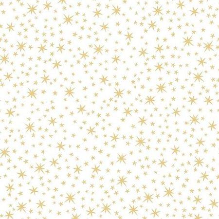 Metals Stars White / Gold