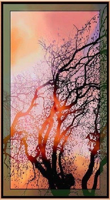 At Dawn Tree Panel