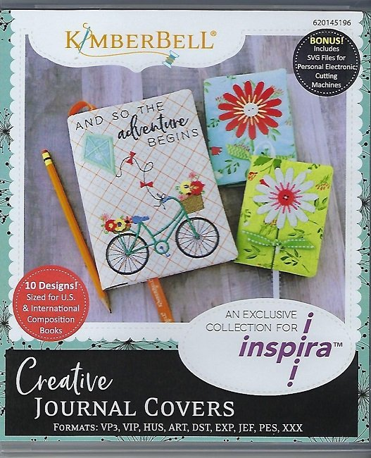 Kimberbell Creative Journal Covers