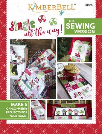 Kimberbell Jingle All the Way! Sewing Pattern Book