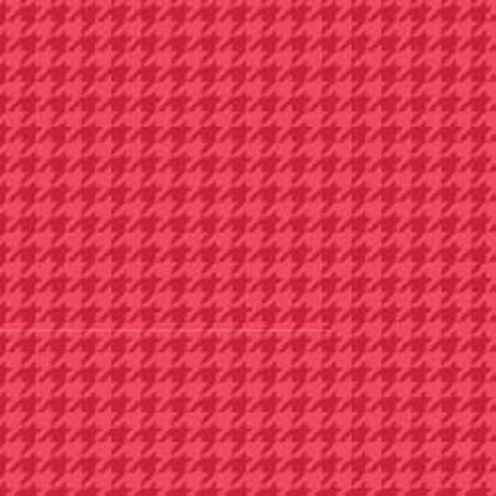 KimberBell Basics Houndstooth - Red FQ