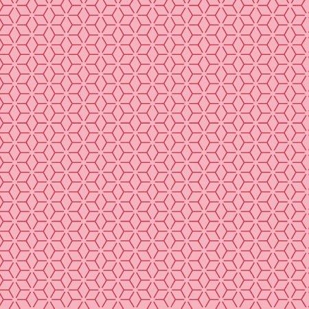 KimberBell Basics Connected Stars - Pink FQ