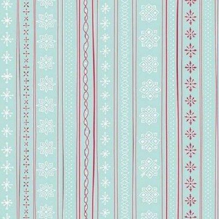 Mingle and Jingle Snowflake Stripe