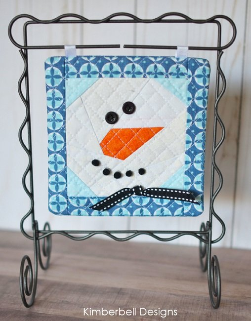 Kimberbell Machine Embroider By Number: Snowman Machine Embroidery CD