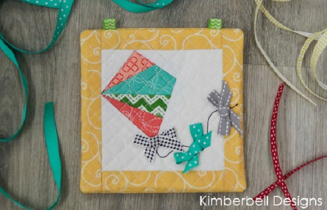 Kimberbell Embroider By Number: Kite Machine Embroidery CD