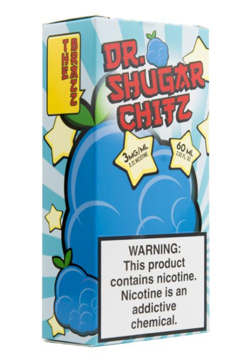 Dr. Shugar Chitz B'Razz Blue Raspberry E-Liquid