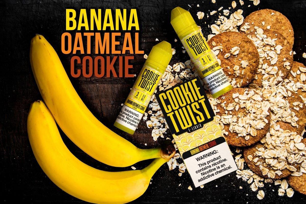 Cookie Twist Banana Oatmeal Cookie