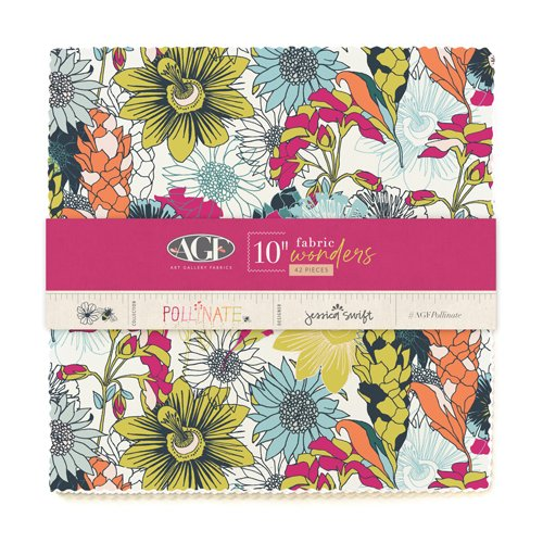 Pollenate - 42 Piece Layer Cake - By Jessica Swift For Art Gallery Fabrics