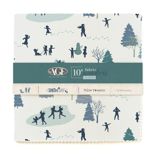 Snow Day - 42 Piece Layer Cake - By Mister Domestic For Art Gallery Fabrics