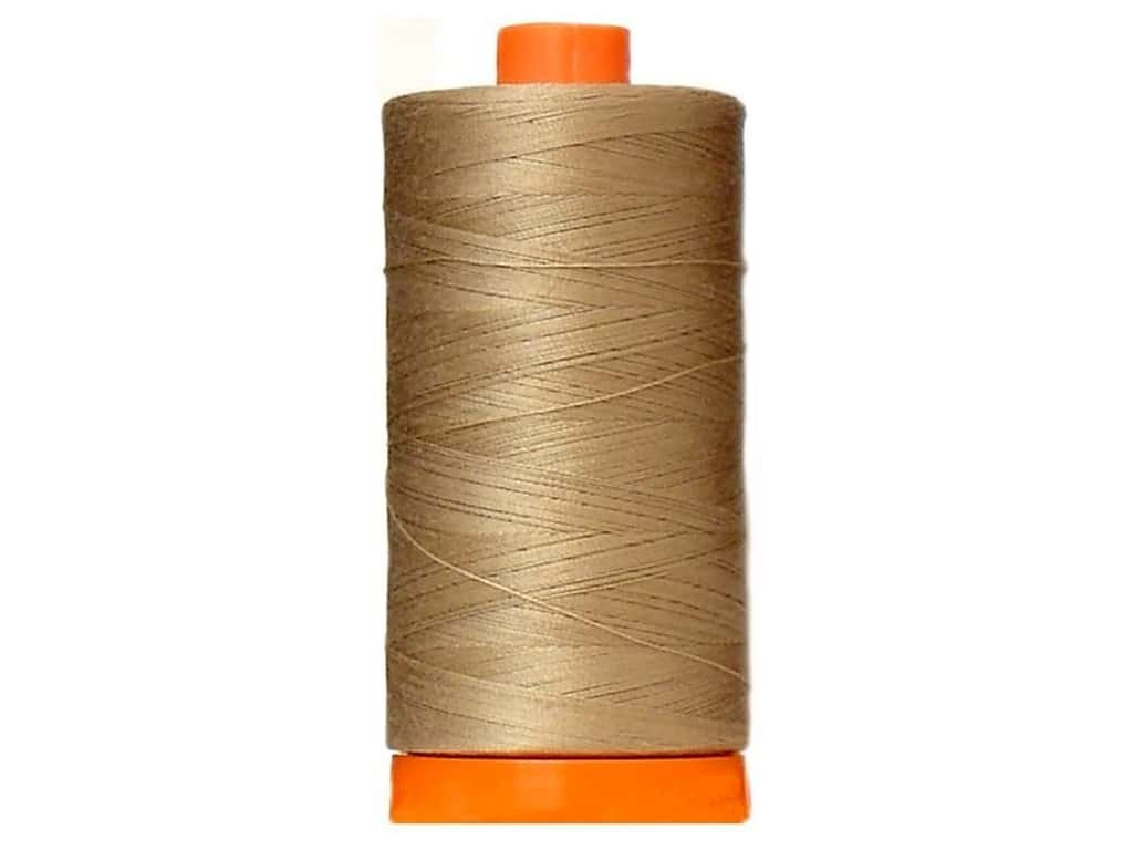 Aurifil Mako Cotton Thread Solid 50wt 1422yds Sand 2326