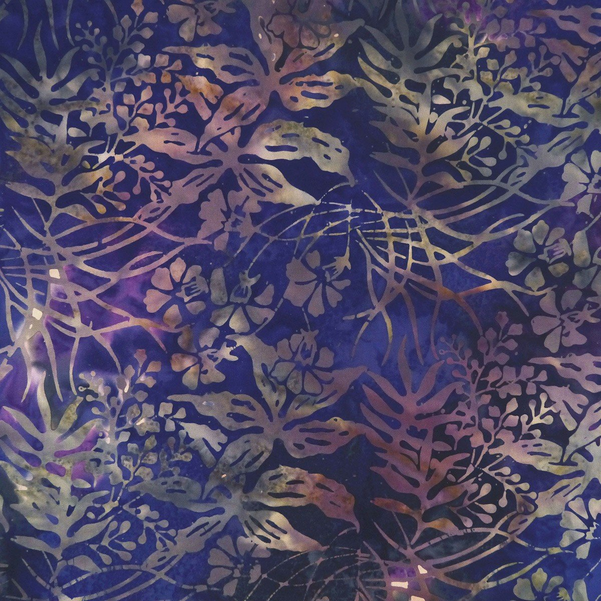 Arc of Iris - Leaves, Lemuria - by Batik by Mirah