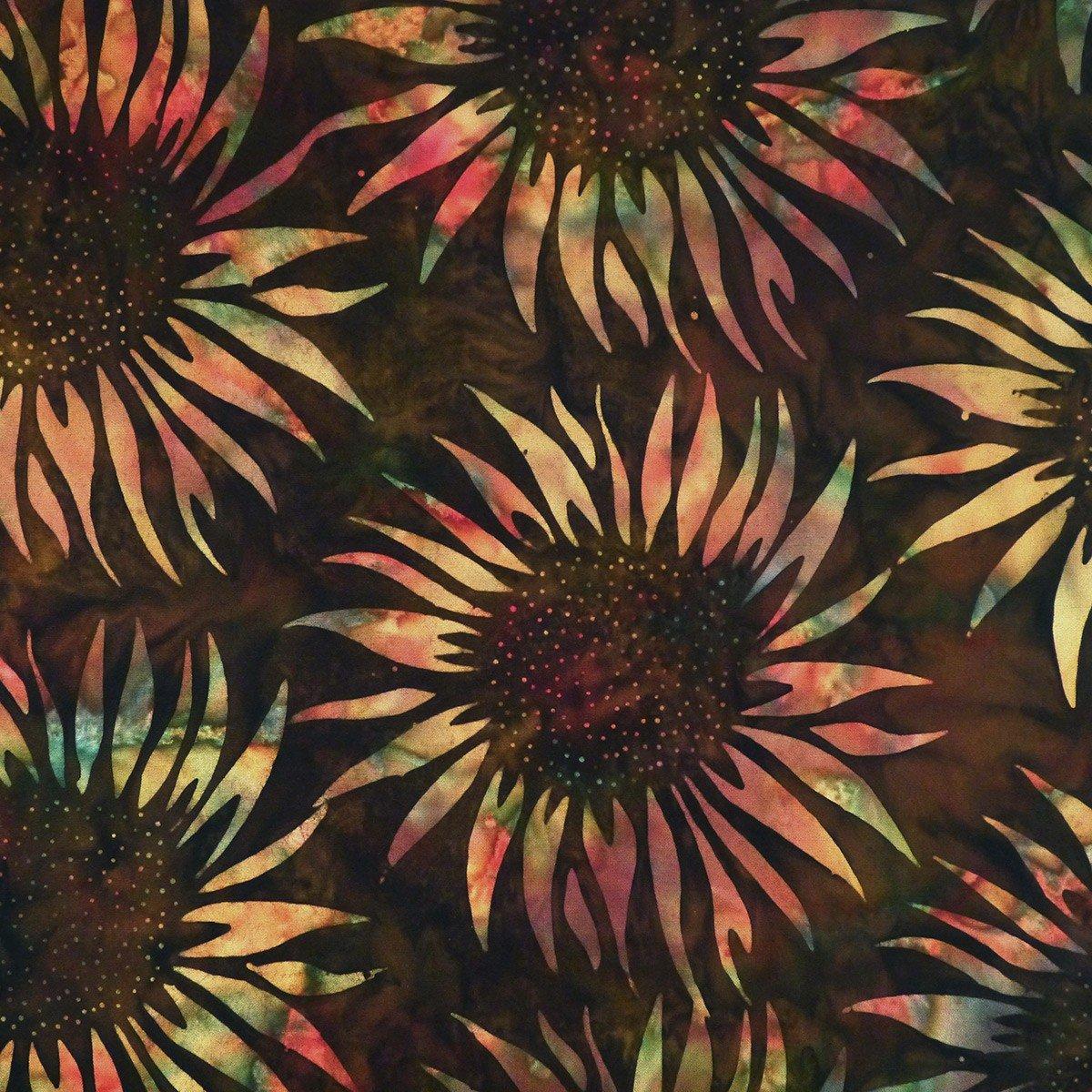 Cornucopia - Sunflower, Jambalaya - by Batik by Mirah