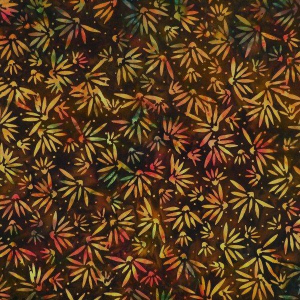 Cornocopia - Flowers, Jambalaya - by Batik by Mirah