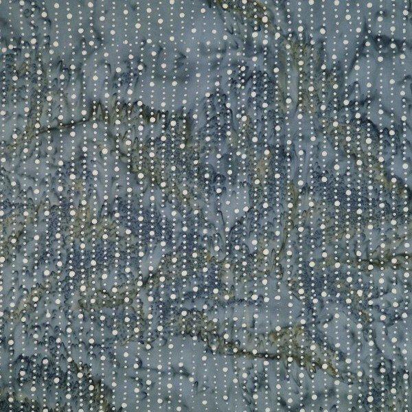 Prairie Passion - Stripes and Dots, Quarry - by Batik by Mirah