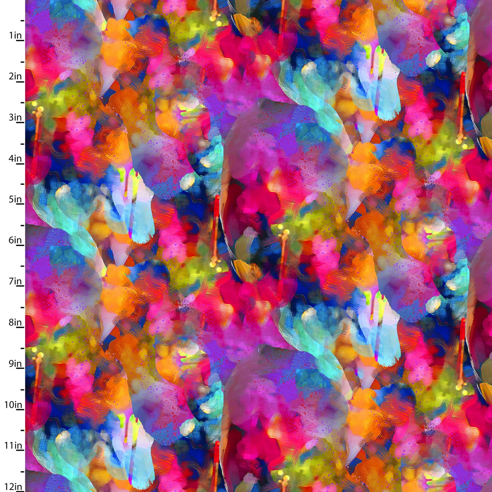 Rhythm & Hues - Color Vibe - By Connie Haley For 3 Wishes Fabric