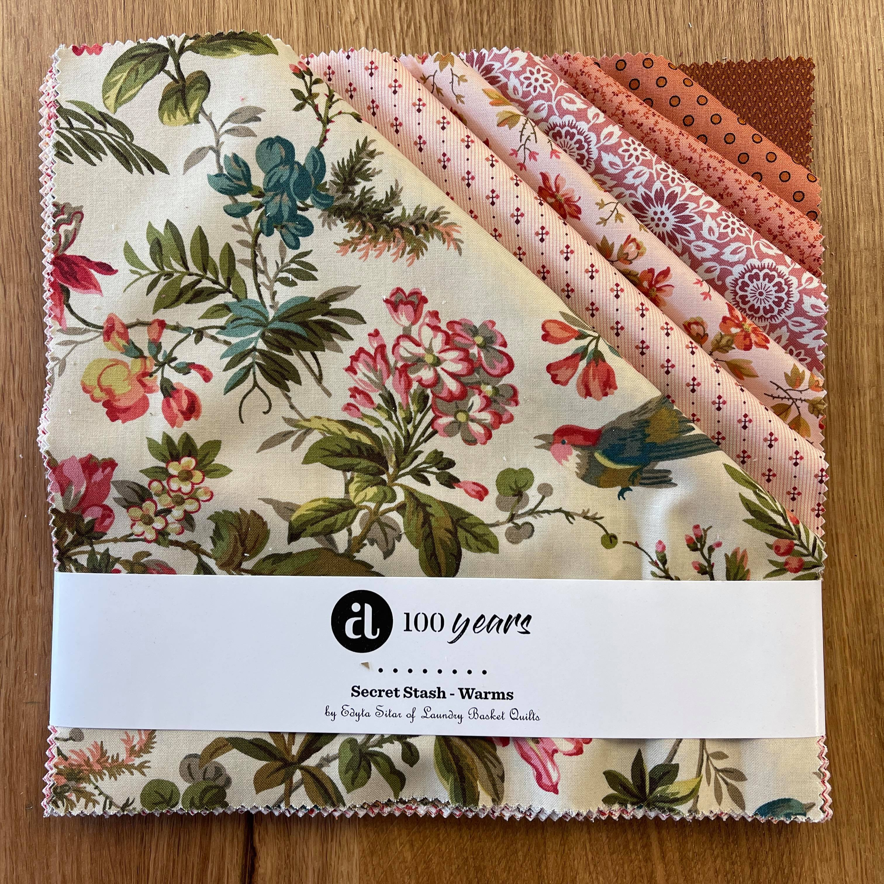 Secret Stash - Warm Layer Cake 42pc/bundle - By Laundry Basket Quilts For Andover Fabrics