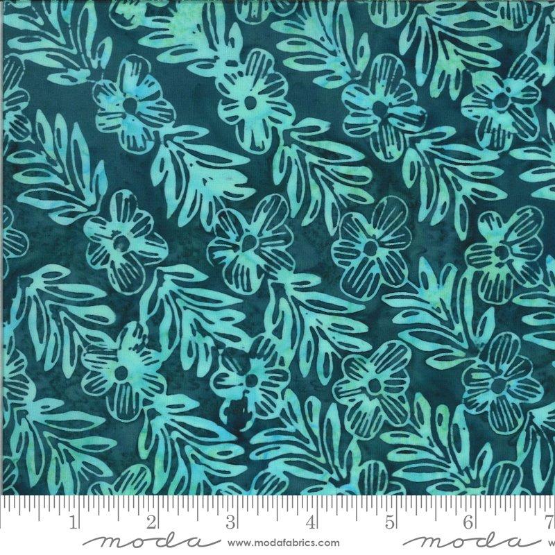 Confection Batiks - Blue Raspberry Mayleen - By Kate Spain For Moda Fabrics