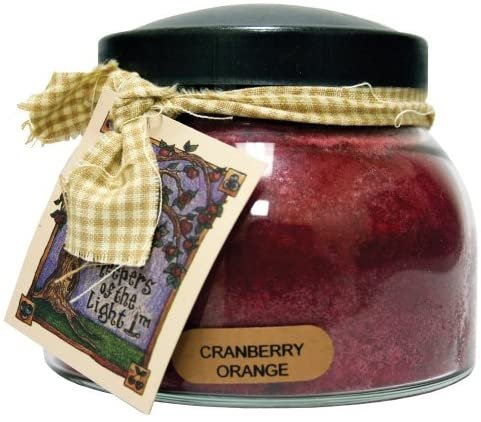 Cranberry Orange Mama Jar Candle 22oz - By A Cheerful Giver