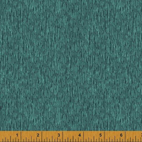 Alfie - Teal Scratch - By Este MacLeod For Windham Fabrics