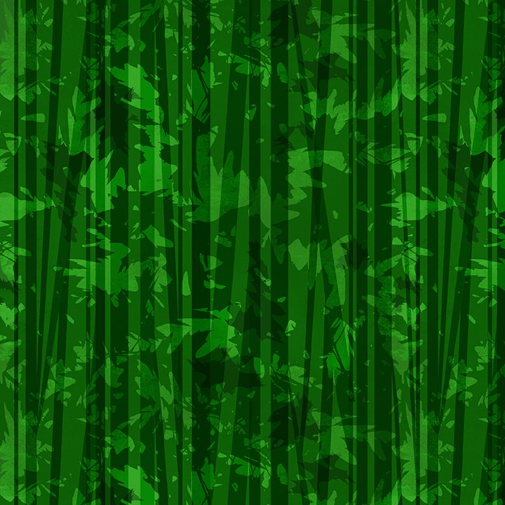 Harvest Whisper - Green Textured Stripe - By Studio Meraki For Studio E Fabrics
