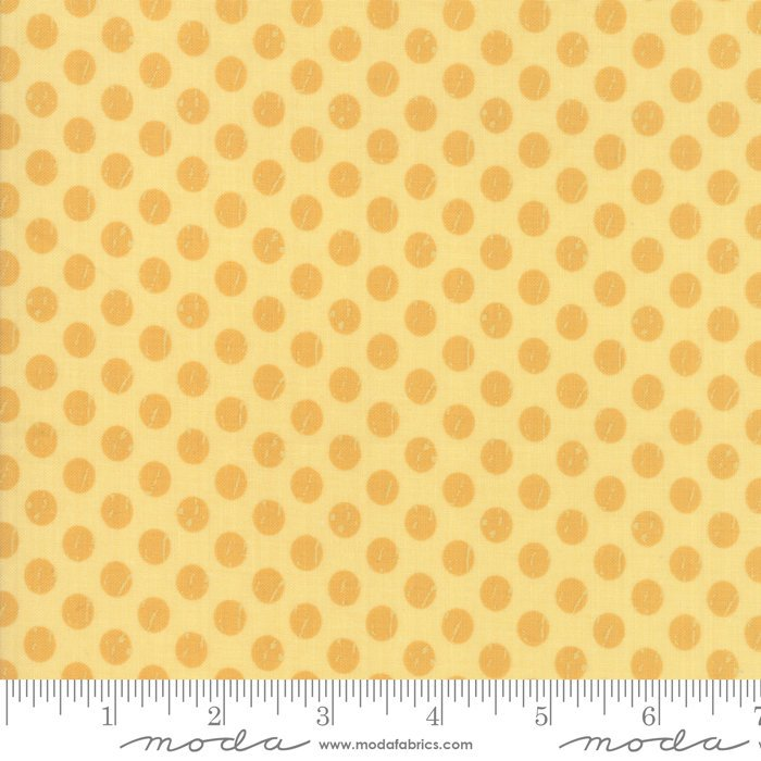 Moda Lollipop Garden by Lella Boutique - Whitewashed Dots Sunshine