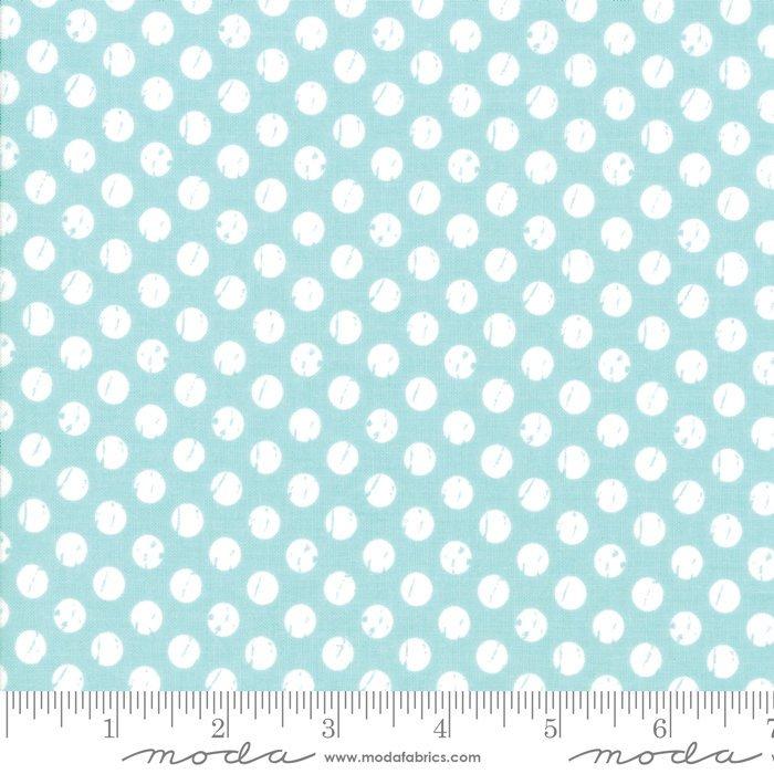 Moda Lollipop Garden by Lella Boutique - Whitewashed Dots Garden Sky
