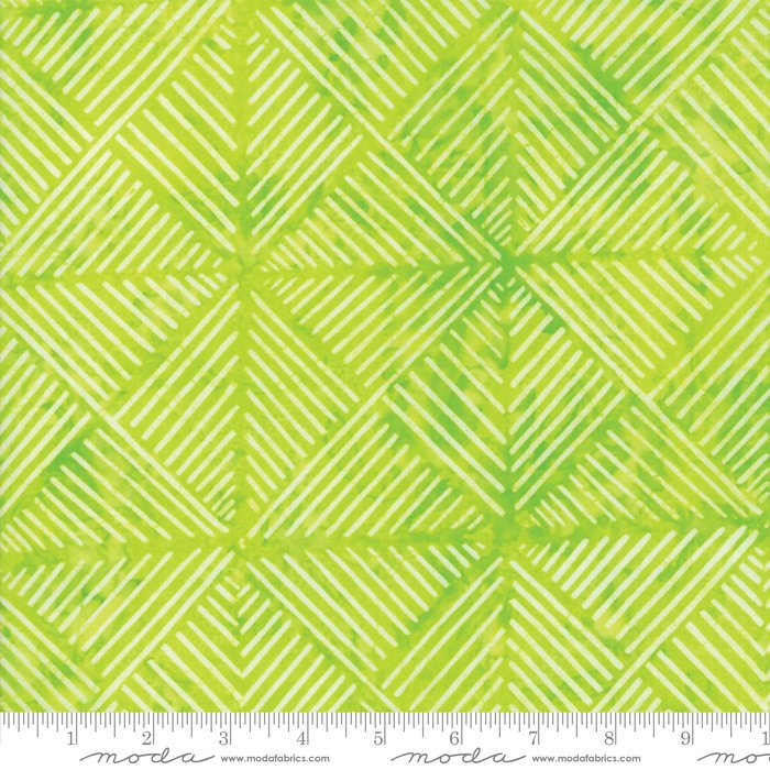 Moda Calypso Batiks by Kate Spain - Modern Squares, Citron / Lime
