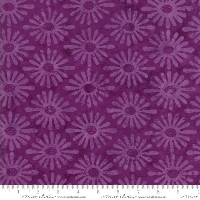 Moda Calypso Batiks by Kate Spain - Fancy Ovals, Orchid