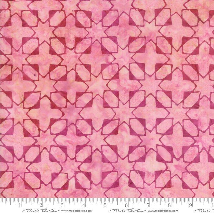 Moda Calypso Batiks by Kate Spain - Quilt Blocks, Paradise / Pink