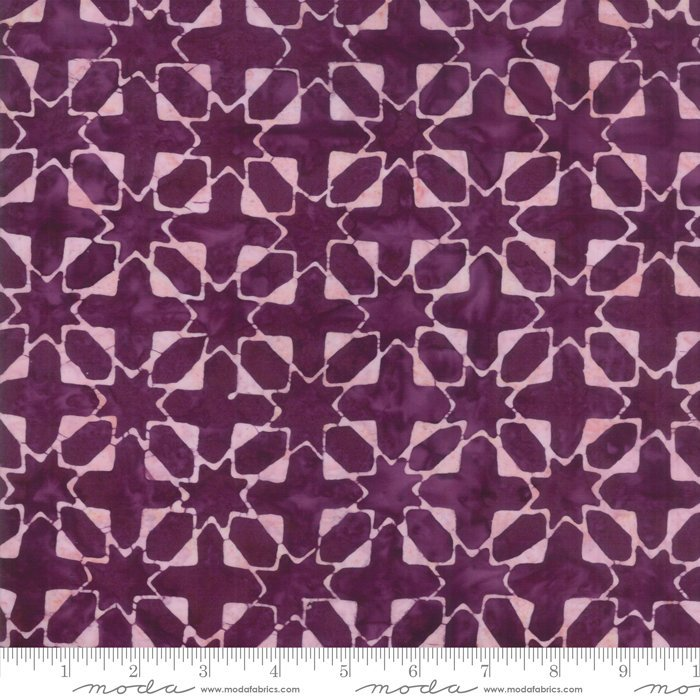 Moda Calypso Batiks by Kate Spain - Quilt Star, Orchid