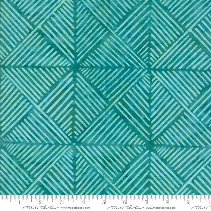 Moda Calypso Batiks by Kate Spain - Modern Squares, Turquoise