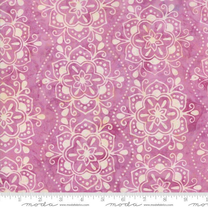 Moda Calypso Batiks by Kate Spain - Bandana Flower, Paradise / Pink
