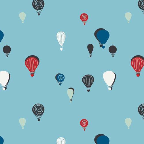Art Gallery Fabrics SISU Kids Fabric - Space Bubbles Fizz
