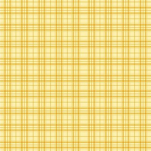 Benartex Home Grown by Nancy Halvorsen - Plaid Yellow