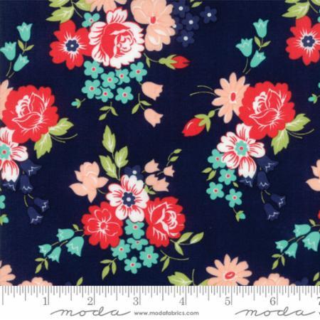 Moda Smitten by Bonnie & Camille - Bouquet Navy