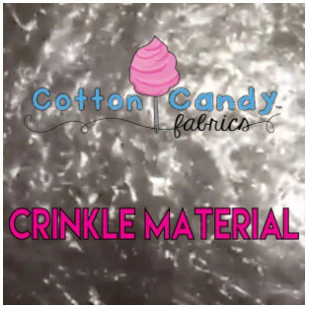 Crinkle Material - Commercial Grade - Bulk Cut of 25 yards